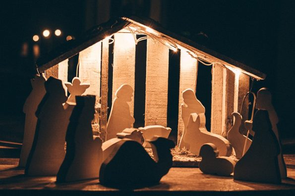 Is Jesus God? - image of nativity scene